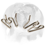 English Bulldog Extra Links for Herm Sprenger Stainless Steel Prong/Pinch Collar