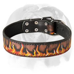 Original Dog     Collar for your English Bulldog