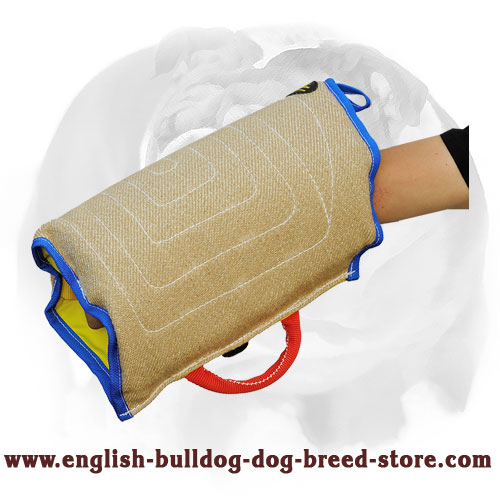 Dog-friendly English Bulldog Bite Sleeve