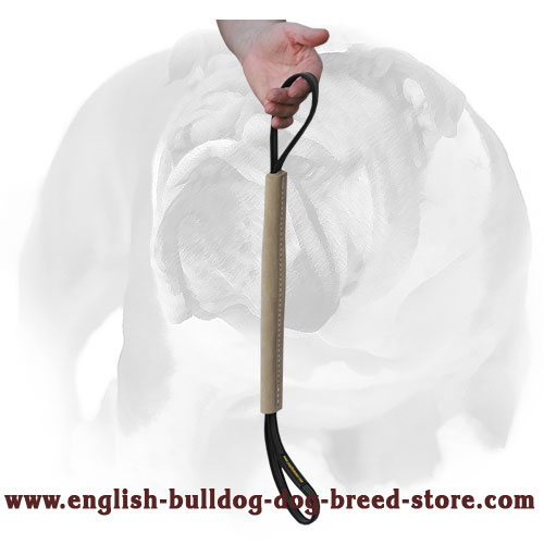 Durable tug for bite skills improving and retrieve training