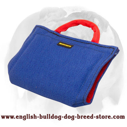 English Bulldog safe for dogs materials puppy bite sleeve for basic training