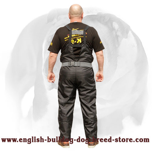 English Bulldog strong scratch pants