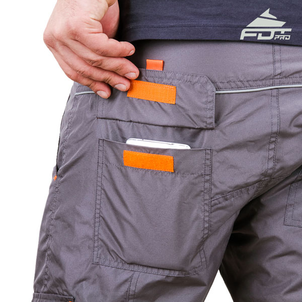 Comfortable Design FDT Pro Pants with Strong Side Pockets for Dog Trainers
