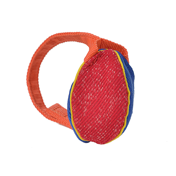 Colorful Design Small French Linen Bite Tug for Training