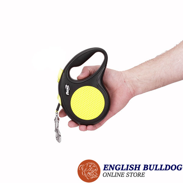 Daily Use Retractable Leash Neon Design for Total Safety