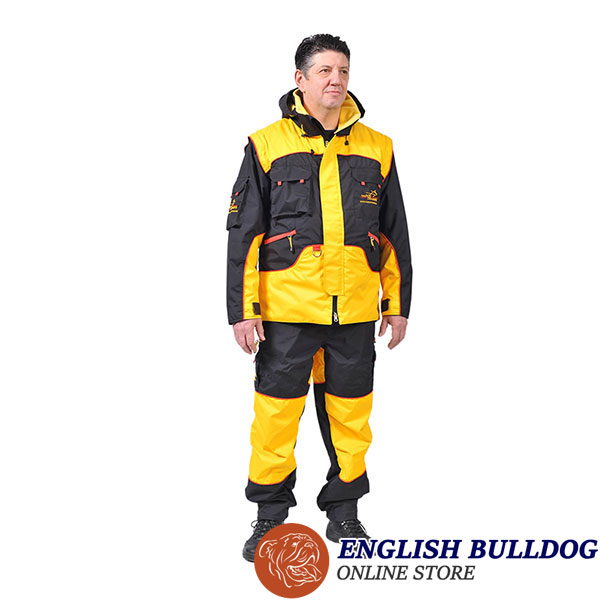 Protection Training Bite Suit of Wind Resistant Membrane Material