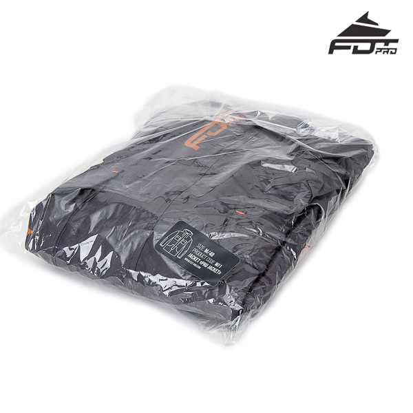 FDT Pro Dog Training Jacket with Top Rate Velcro Patches