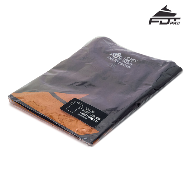 Filled Professional Design T-shirt Dark Grey