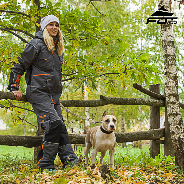 Men and Women Design Pants with Convenient Side Pockets for Active Dog Trainers