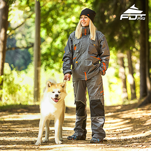 Men and Women Design Dog Tracking Jacket of High Quality Materials