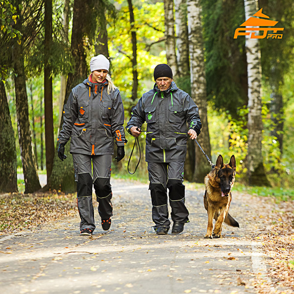 Any Weather Use Strong Dog Tracking Suit for Men and Women