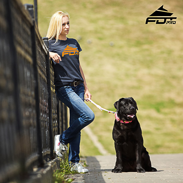 Women T-shirt of Durable Cotton for Dog Walking