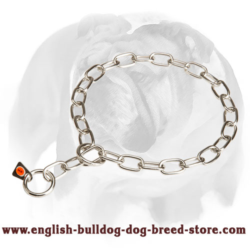 English Bulldog High-Quality Long Term Stainless Steel Fur Saver