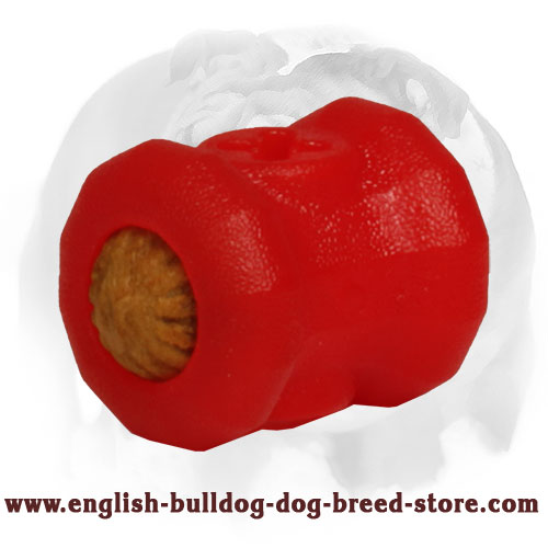 English Bulldog Small Imperishable Fire Plug Dog Toy for Chewing