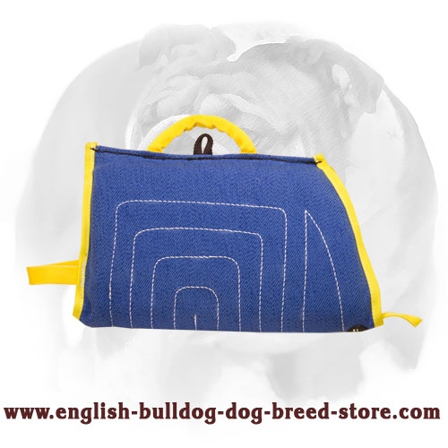 English Bulldog Durable Puppy Sleeve for Bite Training
