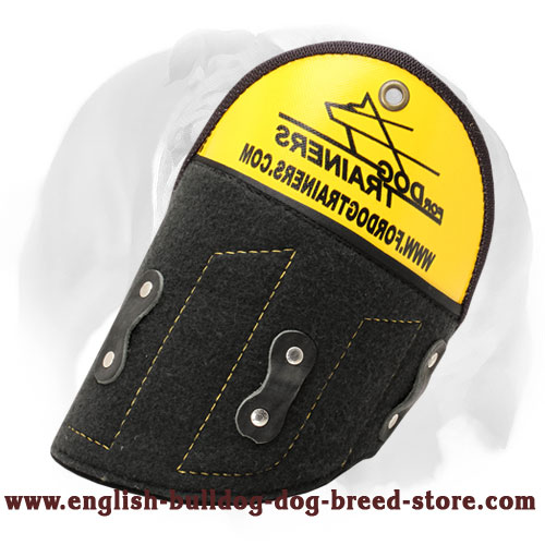 English Bulldog 'Super Shield' Shoulder Protection for Bite Sleeve