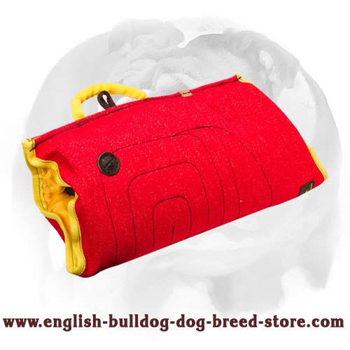 English Bulldog Soft Puppy Sleeve for Bite Training