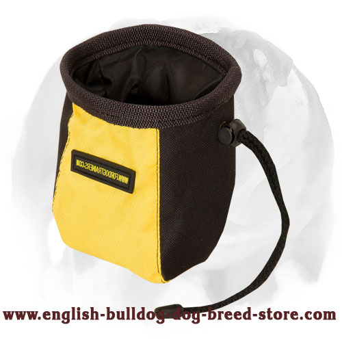 English Bulldog 'Rapid Reward' Training Treat Bag