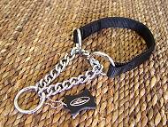 All Weather Choke Nylon Martingale Dog Collar
